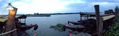 Mekong Lodge-Panorama außen