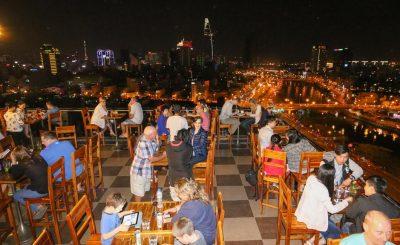 Sunland Hotel Ho Chi Minh City-Terrasse