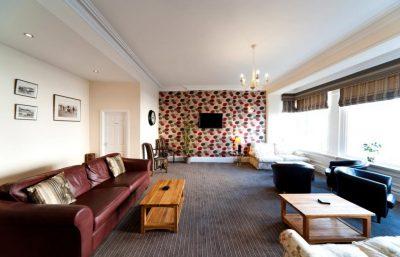 Singlereise Nordwales - Lounge