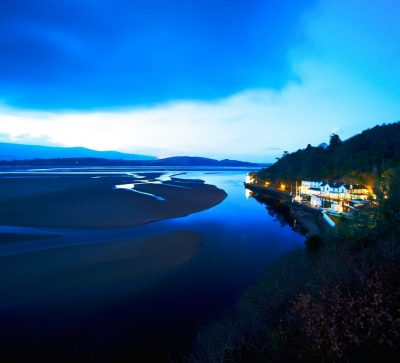 Singlereise Nord Wales - Portmeirion - The Hotel & The Estuary