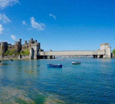 Singlereise Nordwales - Conwy Castle mit Brücke