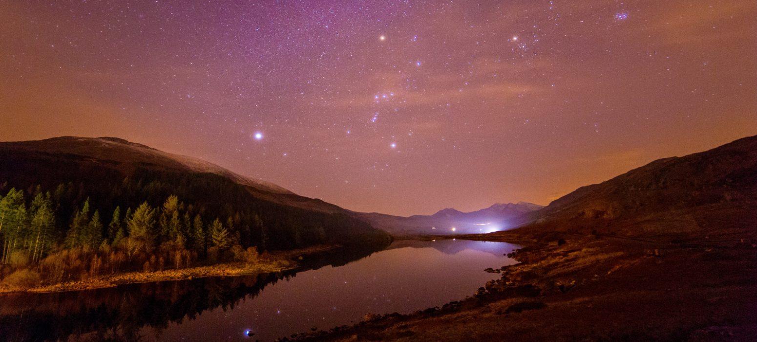 Singlereise Nordwales - Snowdonia bei Nacht