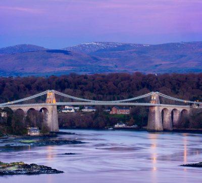 Singlereise Nordwales - Menai Brücke auf Anglesay