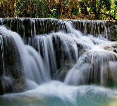 Singlereise Indochina - Kuang Si Wasserfälle