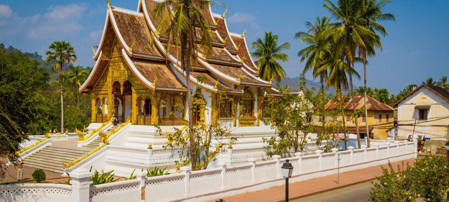 Singlereise Indochina - Luang Prabang-Tempel