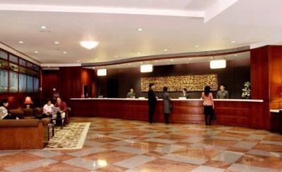 Große Singlereise China - Lobby Metropart Hotel Kowloon