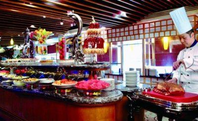 Große Singlereise China - Restaurant Metropart Hotel Kowloon