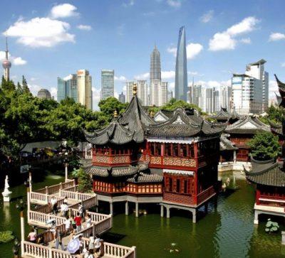 Kleine Singlereise China - Shanghai YU Garten groß