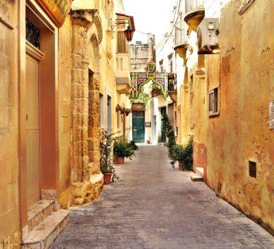 Singlereise Malta - Vallettas Straßen