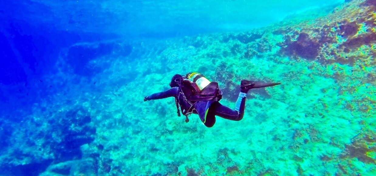 Singlereise Malta - Taucher vor Malta