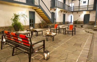 Hotel Abittare Cusco - Feuerstelle