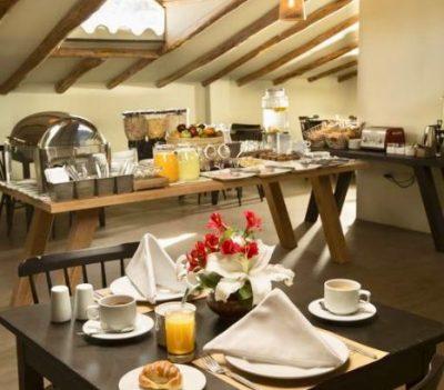 Hotel Abittare Cusco - Frühstücksbuffet