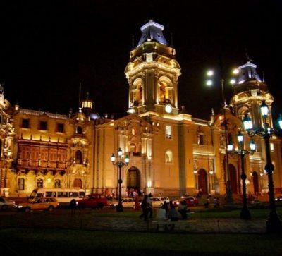 Singlereise Peru - Lima Main Squeare