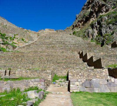 Singlereise Peru - Ollantaytambo Ruinen