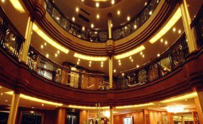 Kreuzfahrtschiff Victoria Anna - Empfang