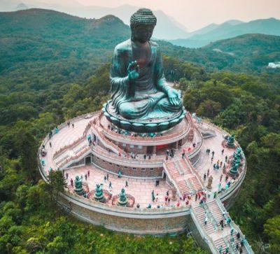 Große Singlereise China - Tian Tan Buddha