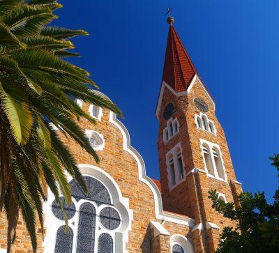 Singlereise Namibia - Christuskirche in Windhoek