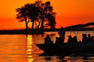 Singlereise Namibia -Botswana-Zimbabwe - Bootsfahrt